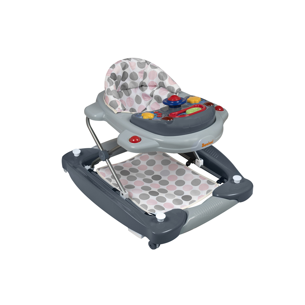 Babywalker Classic 2 in 1 Pink Gray
