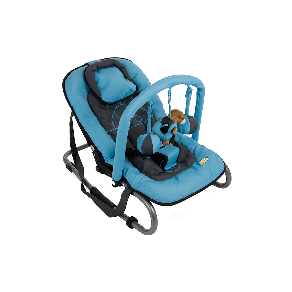 Bouncer Relax Classic Blue Hippo