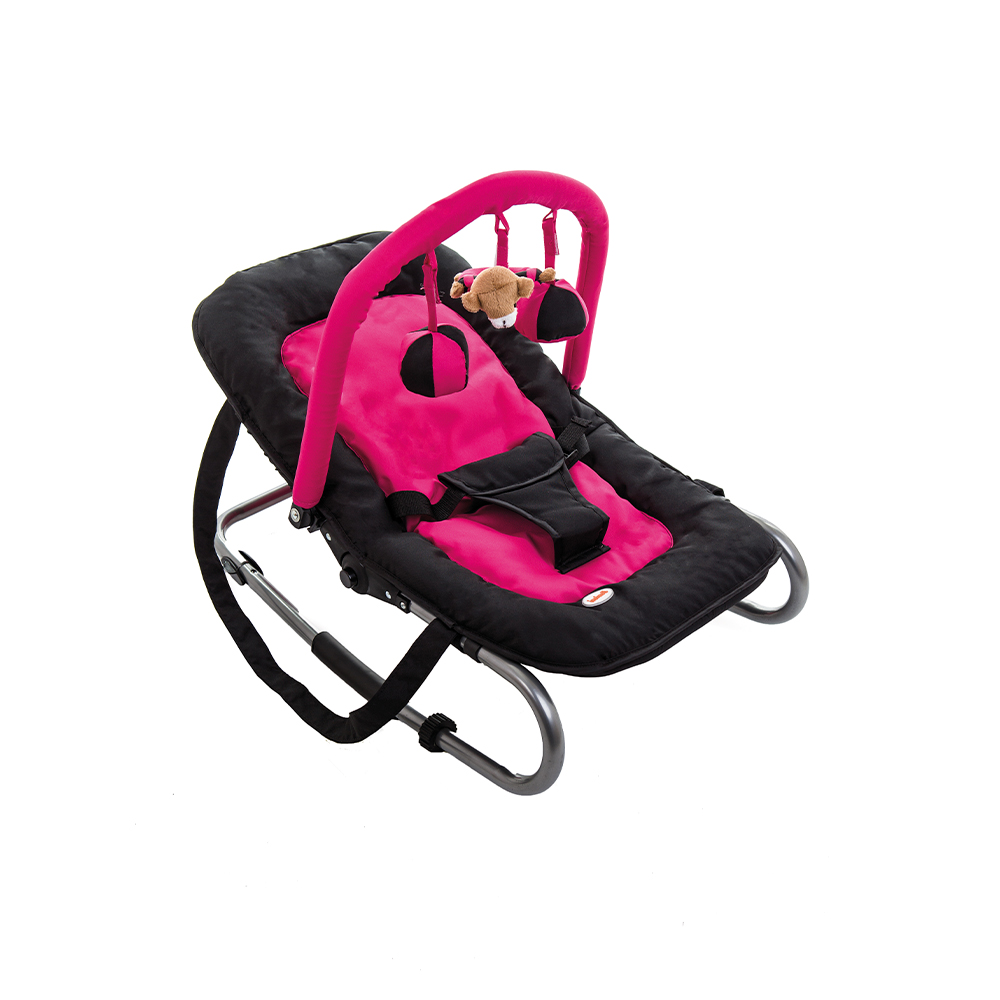 Bouncer Relax Classic Pink Black