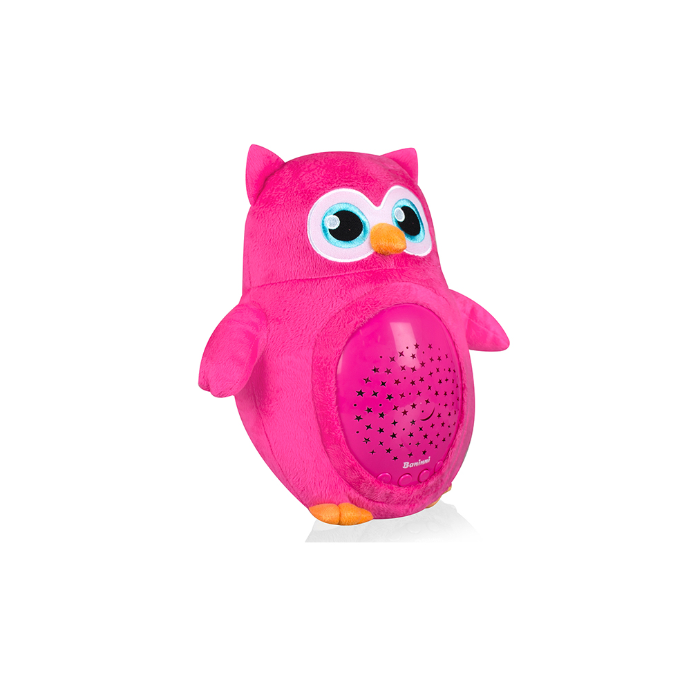 Projector lamps owl Pink