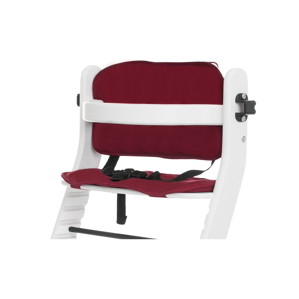 Cushion for high chair seat reducer