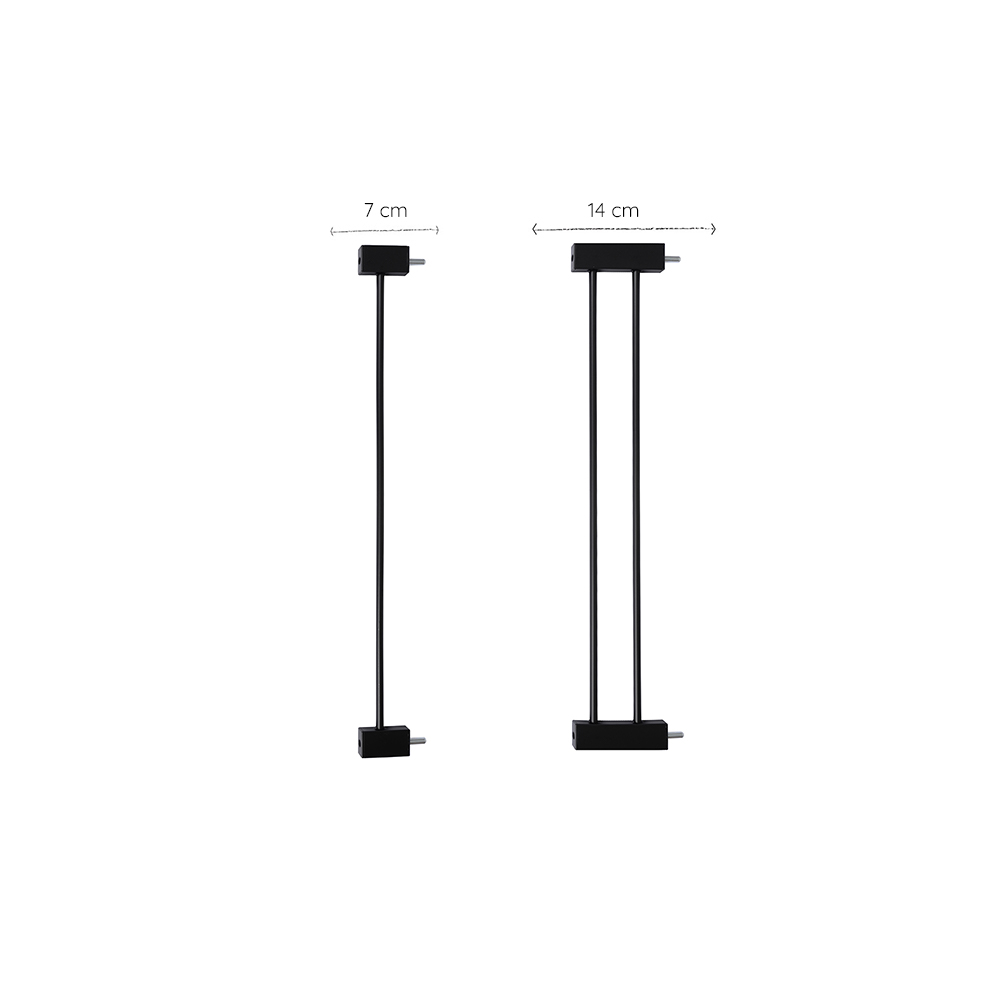 Safety gate extension woody Extension part 7 cm or 14 cm