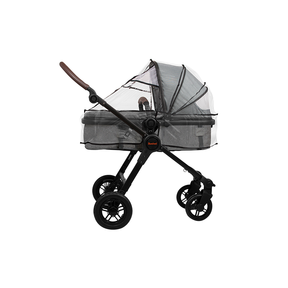 Stroller accessory carrycot raincover transparant
